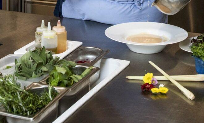 Gut und frisch, Küche im Albero